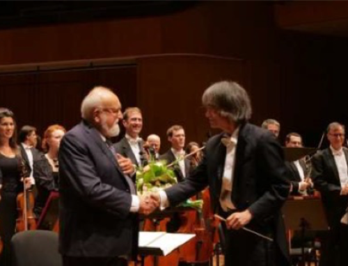 OSM and Kent Nagano express their great sadness upon the passing of Polish composer Krzysztof Penderecki
