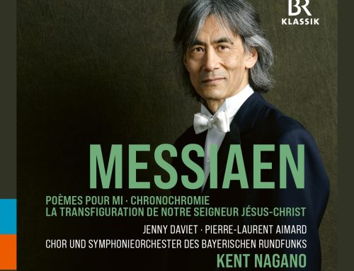 New 3-CD box set with works by Olivier Messiaen and with Kent Nagano