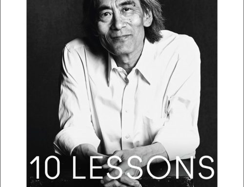 """""""10 Lessons of my Life"""" by Kent Nagano released today"""